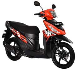 Запчасти для скутера Suzuki Address фото